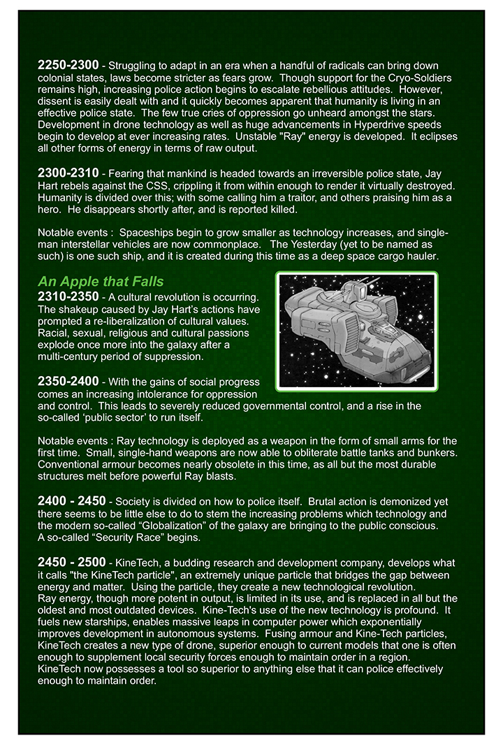 History of the Galaxy pt.2
